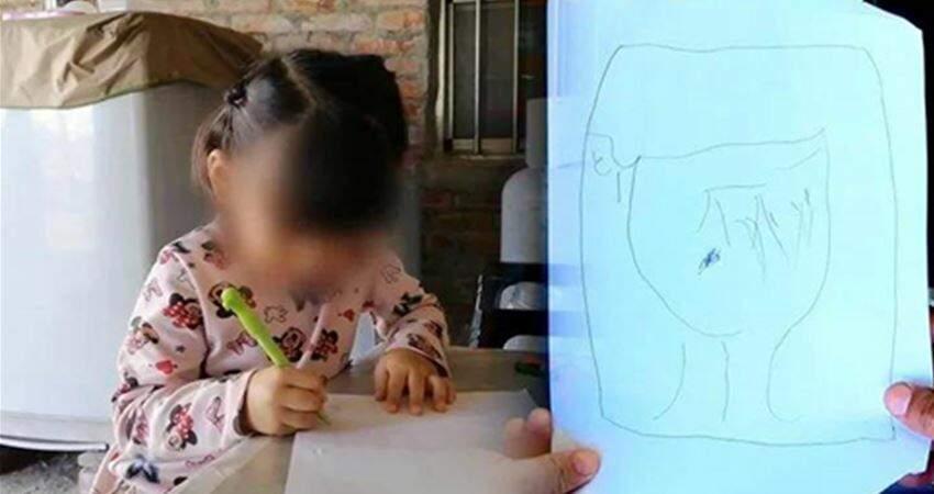 4歲鄭小妹畫圖盼「豬舍變新房」臺北善心女捐75萬圓夢